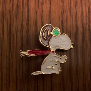 Snoopy Red Baron pin